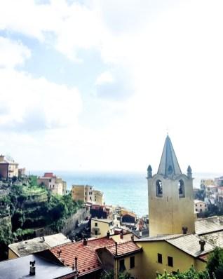 Gorgeous ocean view at Riomaggiore.