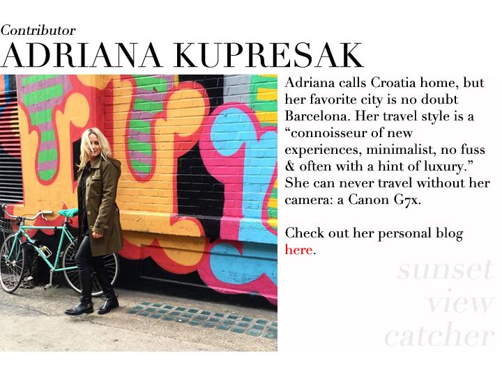 Adriana Kupresak contributor profile