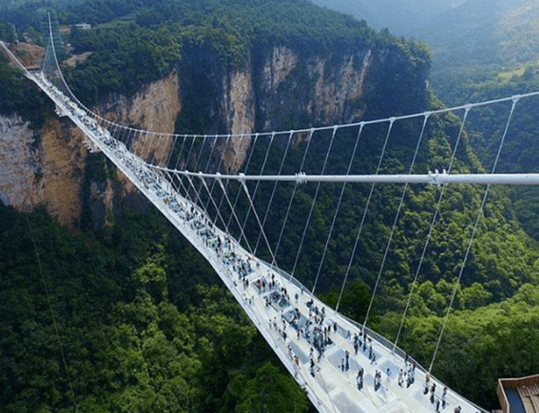 Zhangjiajie Hunan bridge