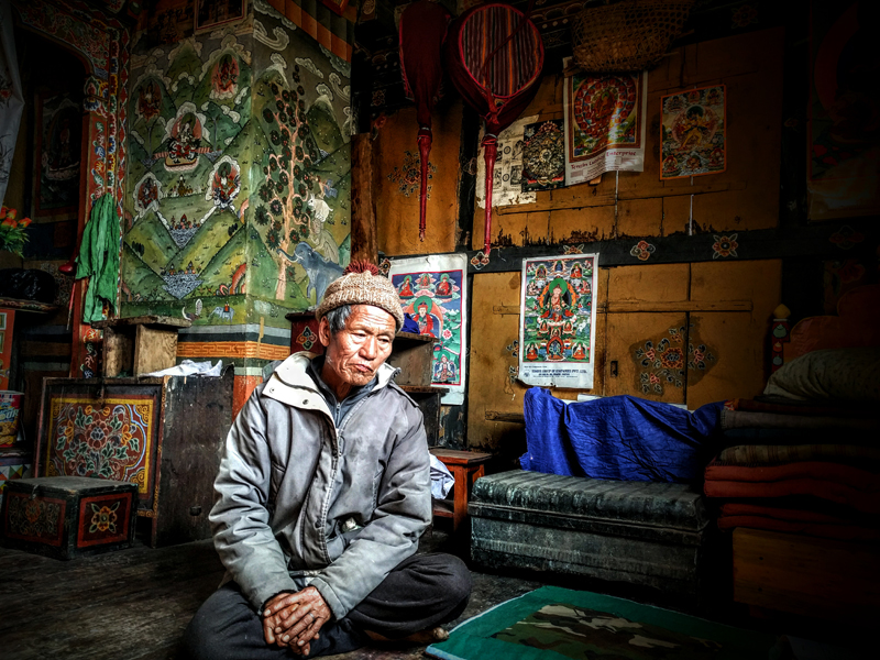 Bhutanese Man