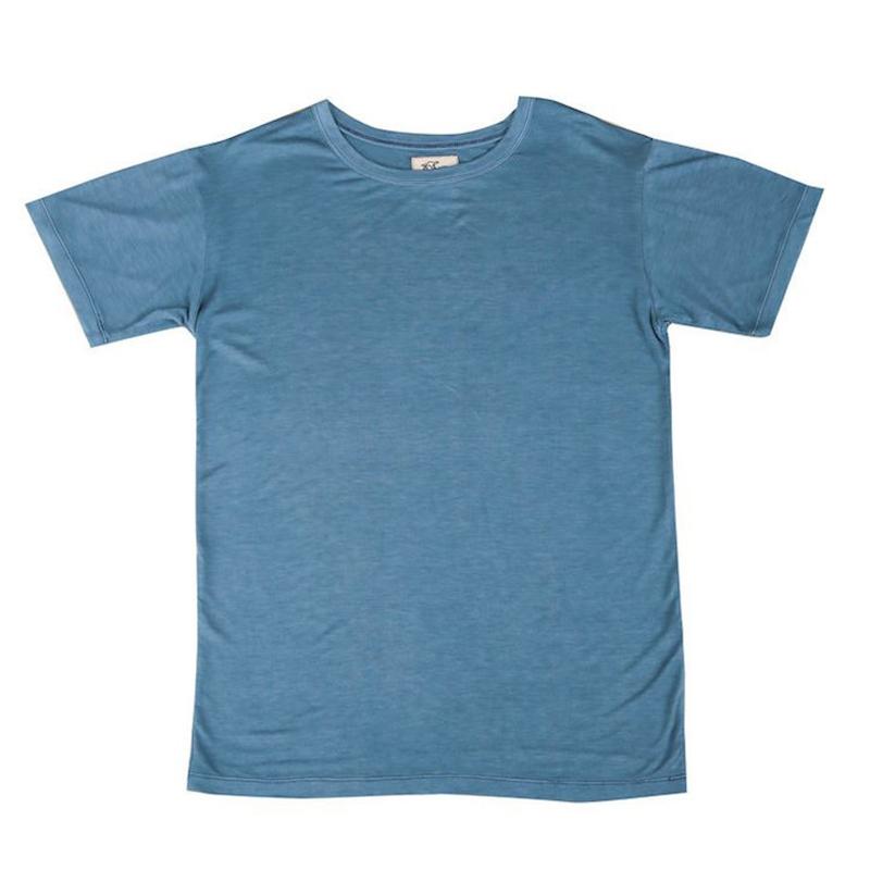 Blue T-Shirt for Men and Women - Tidal