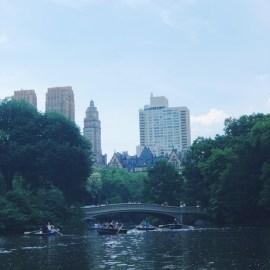 Central Park Boating