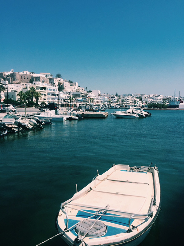 Naxos boats