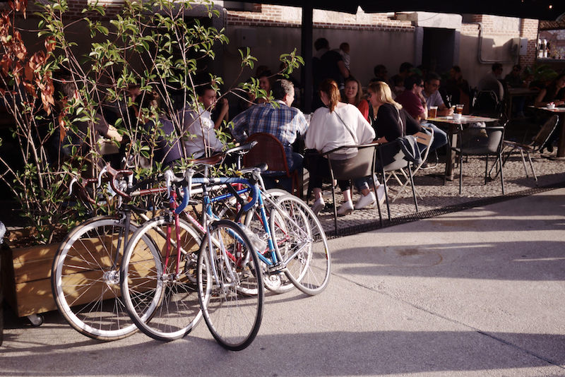 Bicycles in Madrid