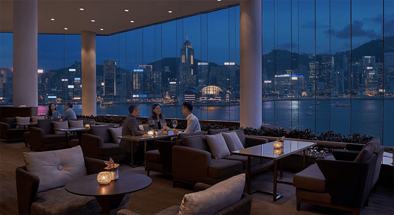 Lobby Lounge, Hong Kong