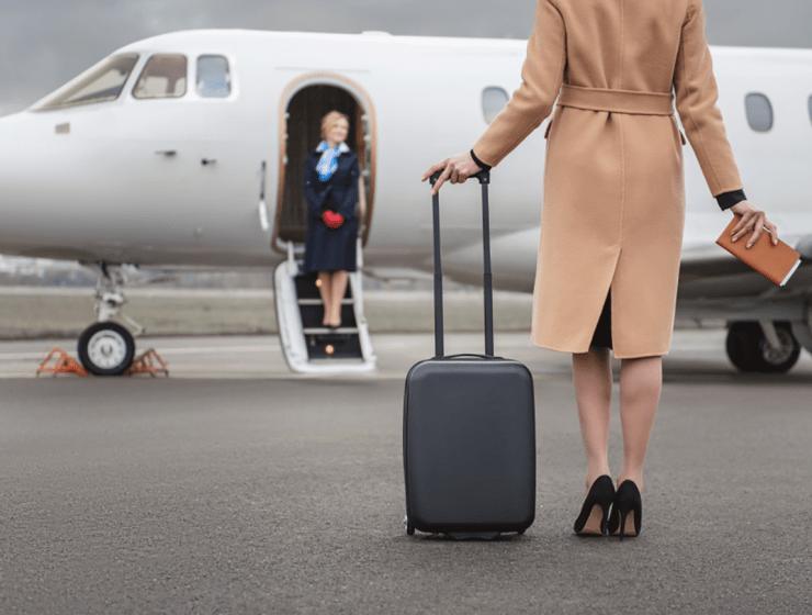 private jet trip