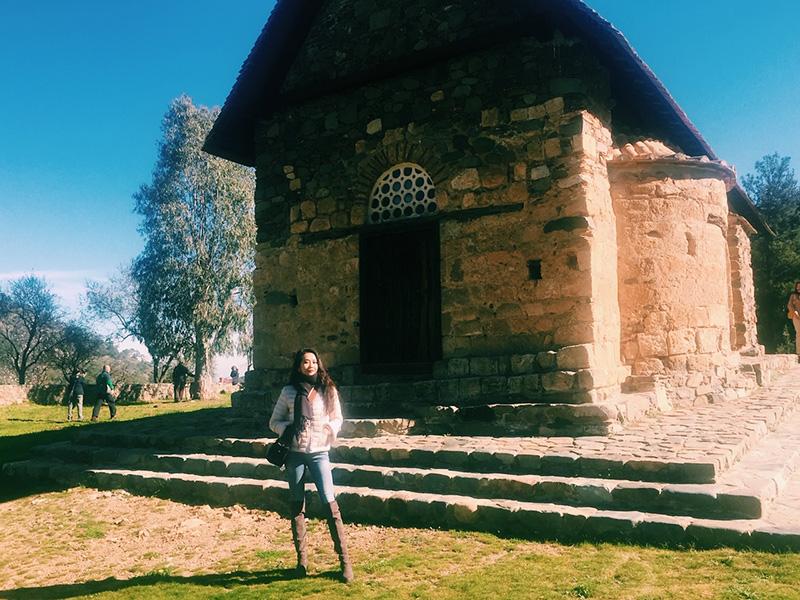 Panagia Asinou Church.
