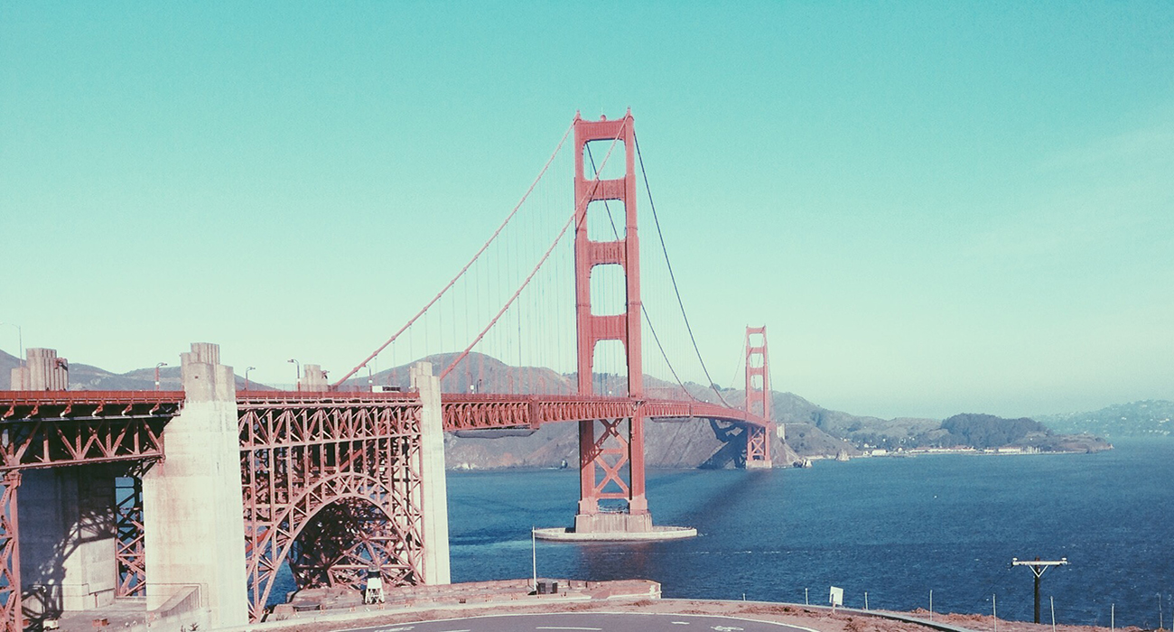 Golden Gate Bridge - San Francisco.