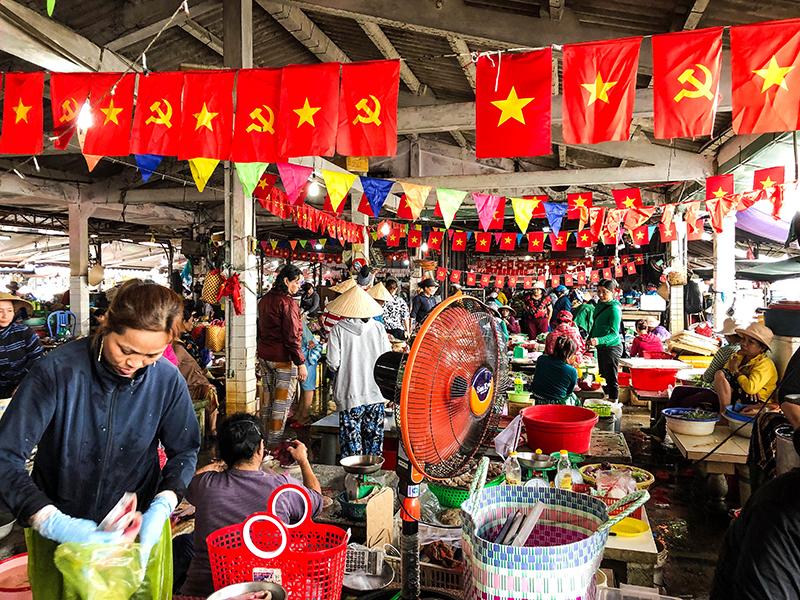 Hoi An Fish market.