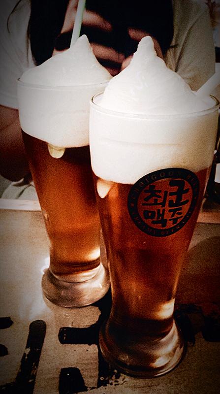 Cream beer Seoul