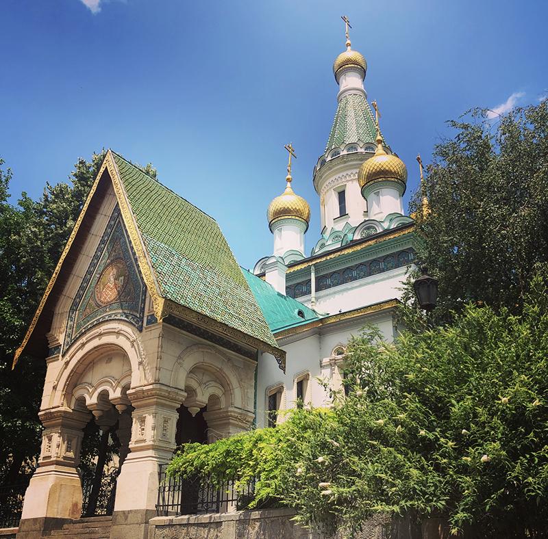 Russian Church in Bulgaria. Photo: Kaitlyn Rosati