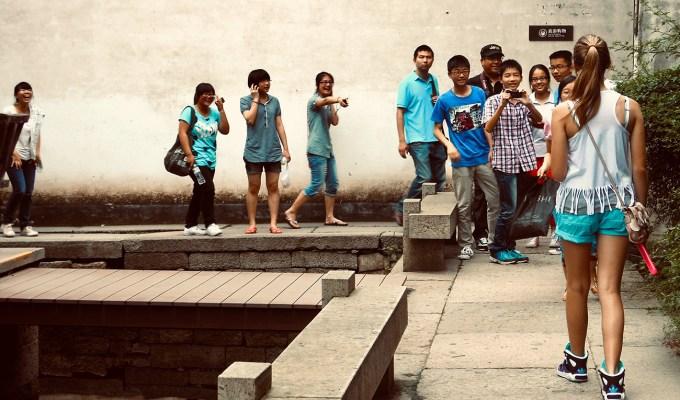 Hangzhou's Preteen Paparazzi.