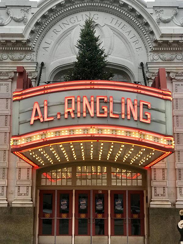 Al. Ringling Theatre. FACEBOOK Discover Wisconsin