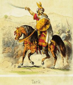 Tariq ibn Ziyad, Berber Muslim and Umayyad general who led the conquest of Visigothic Hispania in 711