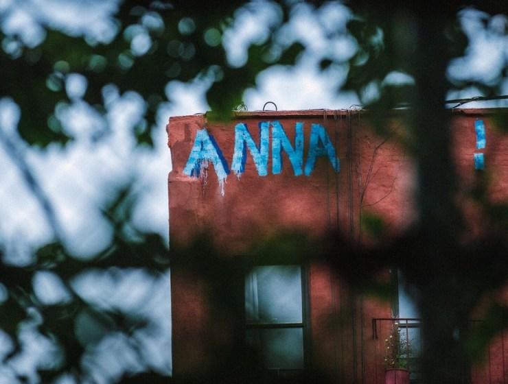 Anna street graffiti NYC