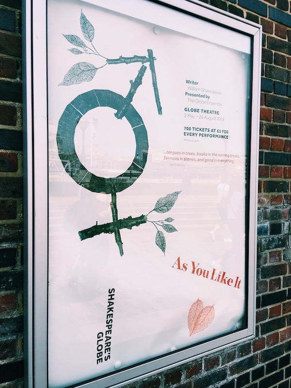 As You Like It poster art