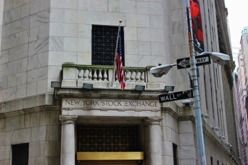 New York Stock Exchange Wall Street New York City