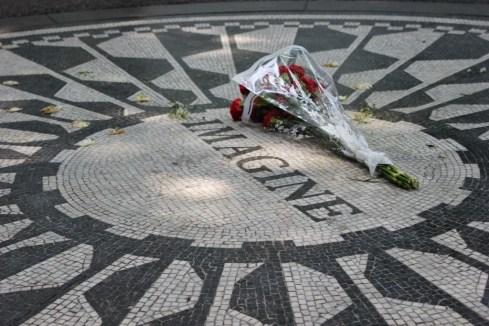 Imagine Strawberry Fields Central Park New York City NYC JetSettingFools.com