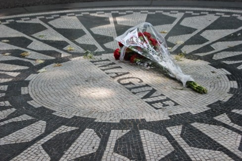 Imagine Strawberry Fields Central Park New York City NYC JetSettingFools.com