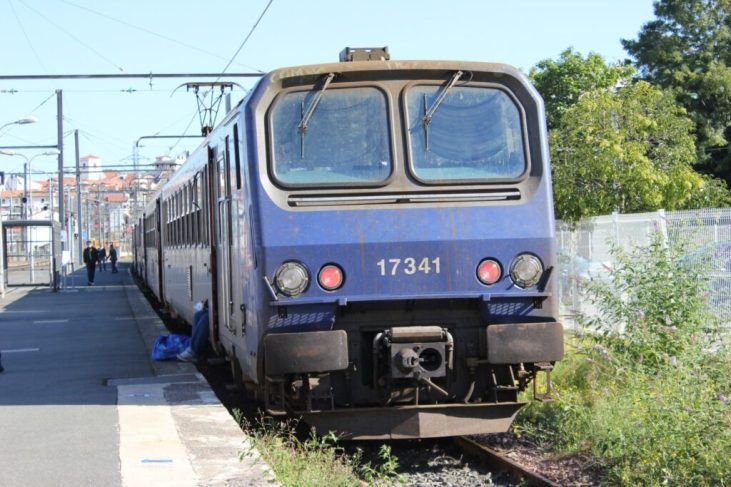 TER Train from Hondarribia to St. Jean de Luz