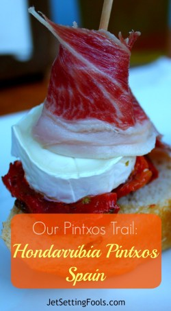 Eating Hondarribia pintxos in Basque Country, Spain by JetSettingFools.com