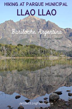 Hiking at Parque Municpal Llao Llao in Bariloche, Argentina by JetSettingFools.com