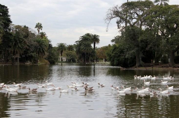 Parque Tres de Febrero in Palermo, Buenos Aires, Argentina