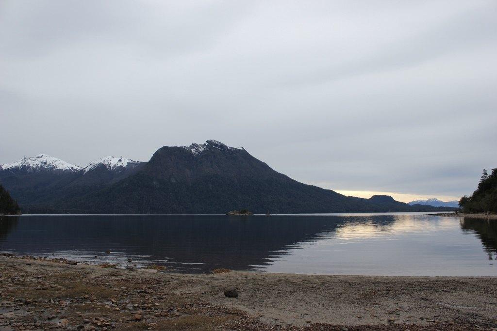 Beach at Villa Tacul, Park Llao Llao, Bariloche, Argentina