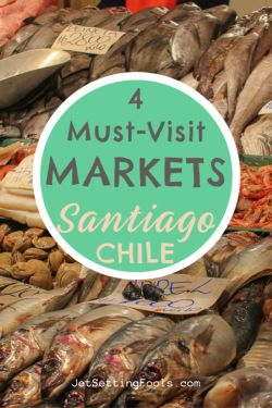 4 Markets in Santiago, Chile by JetSettingFools.com