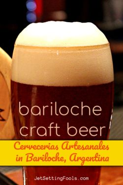 Craft Beer in Bariloche Argentina by JetSettingFools.com