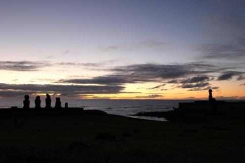 Super Sunset, Easter Island