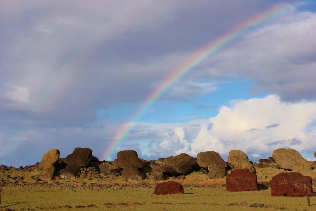 Rapa Nui Rainbow, Easter Island Itinerary