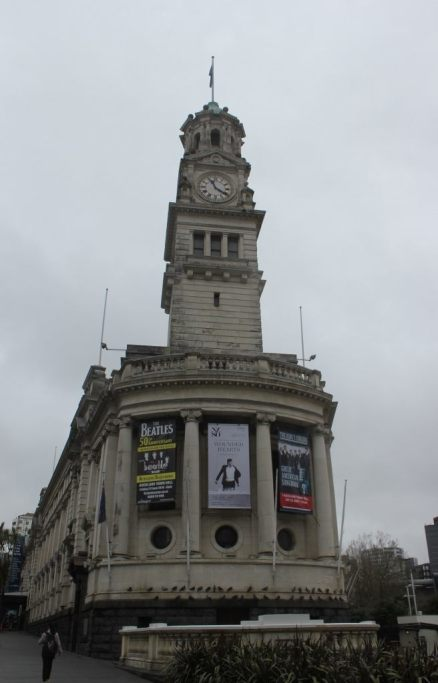 Town Hall on Aotea Square in Auckland, New Zealand