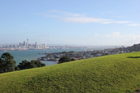 View of Auckland from North Head, Devonport, NZ