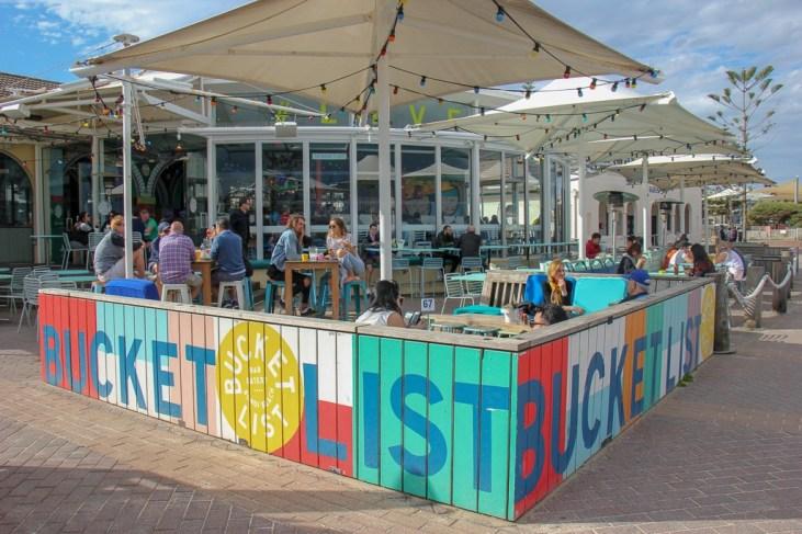 Beachfront Bucket List bar on Bondi Beach, Sydney, Australia