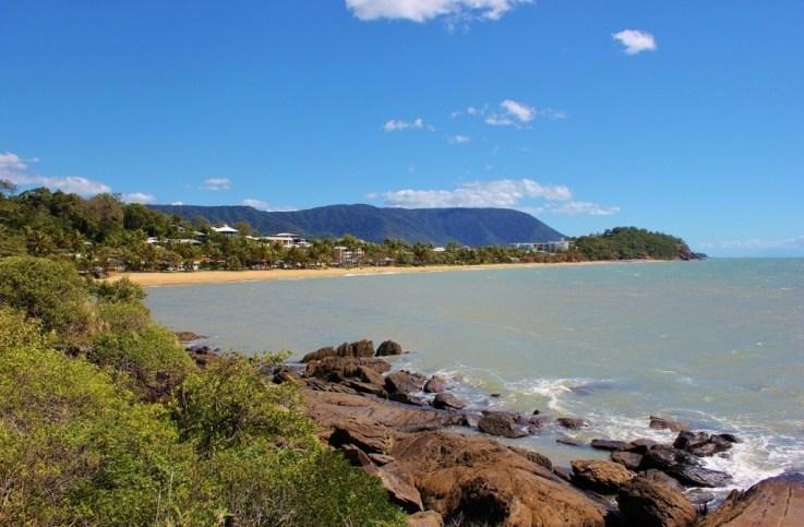 Trinity Beach, one of the Northern Beaches, near Cairns, Australia
