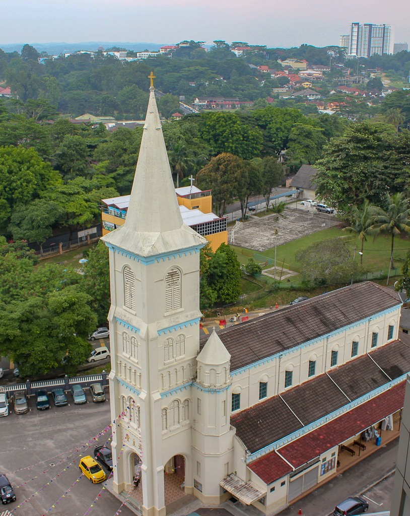 Church of the Immaculate Conception in JB, Malaysia