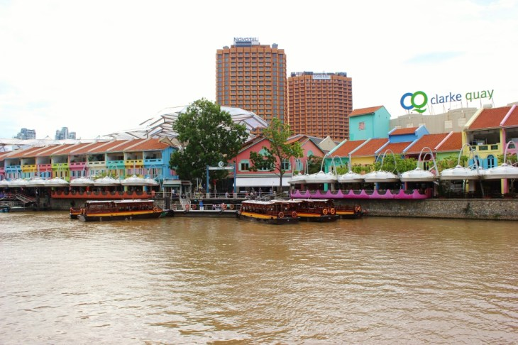 Riverfront Clarke Quay in Singapore