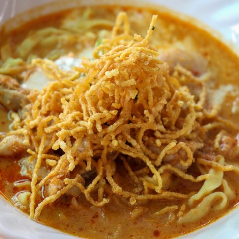 Best Khao Soi in city at Khao Soi Khun Yai in Chiang Mai, Thailand