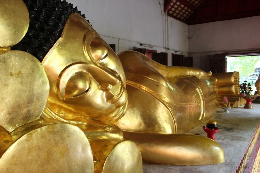 Buddha at Wat Phra Singh, a Chiang Mai Temple