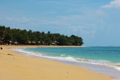 Klong Khong Beach on Koh Lanta Island in Thailand