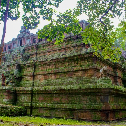 Phimeanakas temple at Angkor Park in Siem Reap, Cambodia