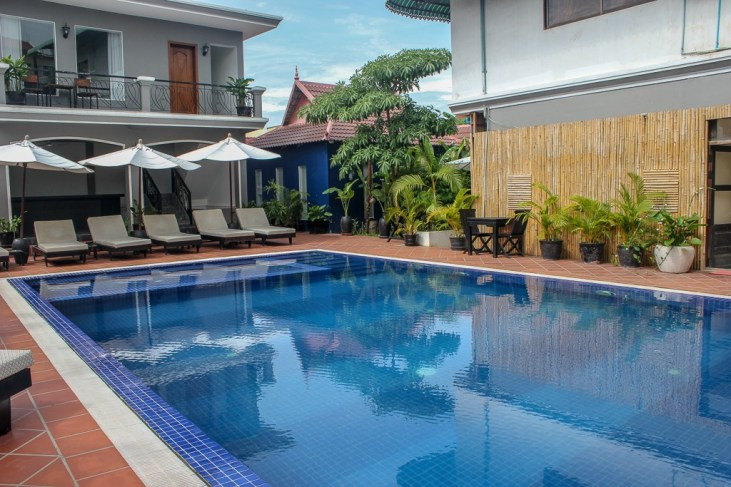 Swimming Pool at The Villa Siem Reap in Siem Reap, Cambodia