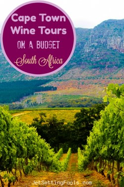 Cape Town Wine Tours South Africa by JetSettingFools.com