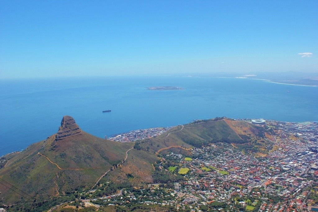 Views from Cape Town's Table Mountain South Africa JetSetting Fools