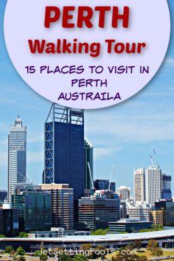 PERTH Self-guided Walking Tour by JetSettingFools.com