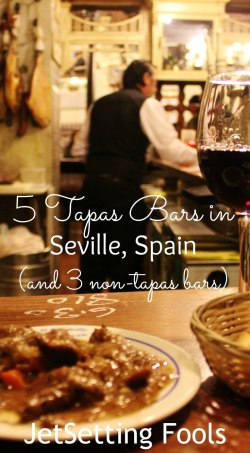 5 Tapas Bars in Seville, Spain and 3 non-tapas bars JetSetting Fools