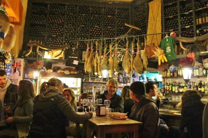 Intimate gatherings at Bar Alfalfa tapas bar in Seville, Spain