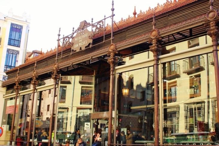 Merado de San Miguel, Madrid Spain