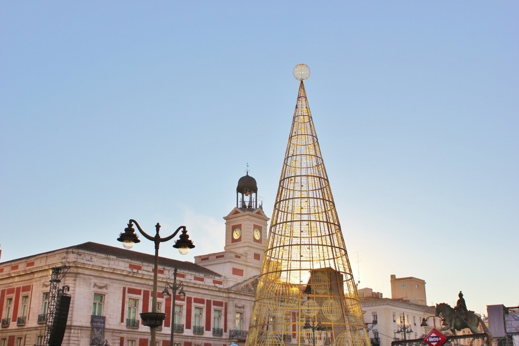 Puerto del Sol on New Year's Eve day
